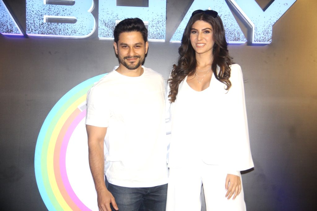 "Actors Kunal Khemu and Elnaaz Norouzi at the launch of their upcoming web series ""Abhay"" in Mumbai, on Feb 4, 2019. - Kunal Khemu and Elnaaz Norouzi"