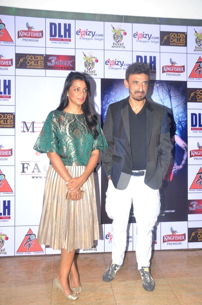 Actors Mugdha Godse and Rahul Dev during the launch of Kashmira Shah`s short film ``Come Back to Me`` on 05 Oct 2016. - Mugdha Godse, Rahul Dev and Kashmira Shah