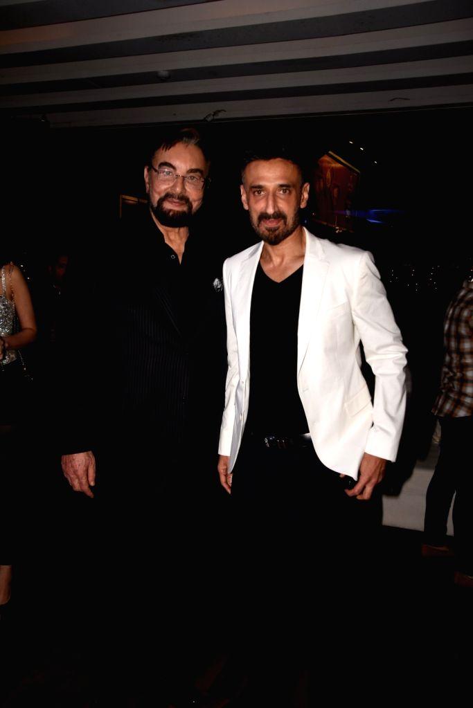 Actors Mukul Dev and Kabir Bedi at Savvy magazine bash in Mumbai, on Jan 28, 2019. - Mukul Dev and Kabir Bedi