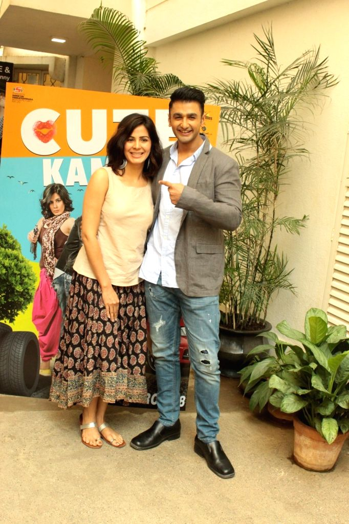 Mumbai: Actors Nishant Malkani and Kirti Kulhari during the