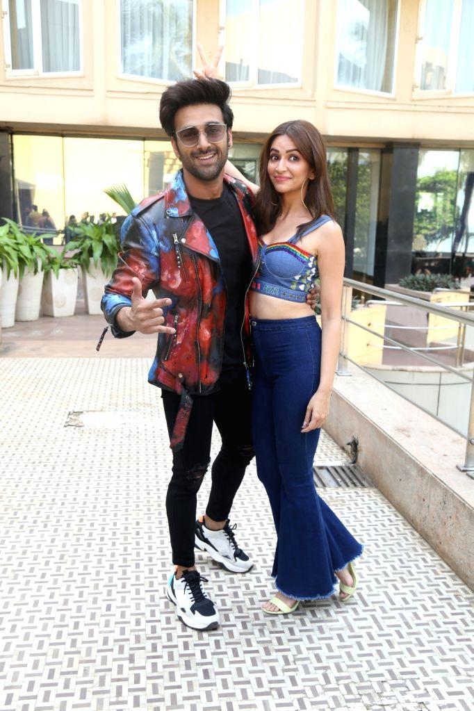 "Actors Pulkit Samrat and Kriti Kharbanda during the promotions of their upcoming film ""Pagalpanti"" in Mumbai on Nov 14, 2019. - Pulkit Samrat and Kriti Kharbanda"