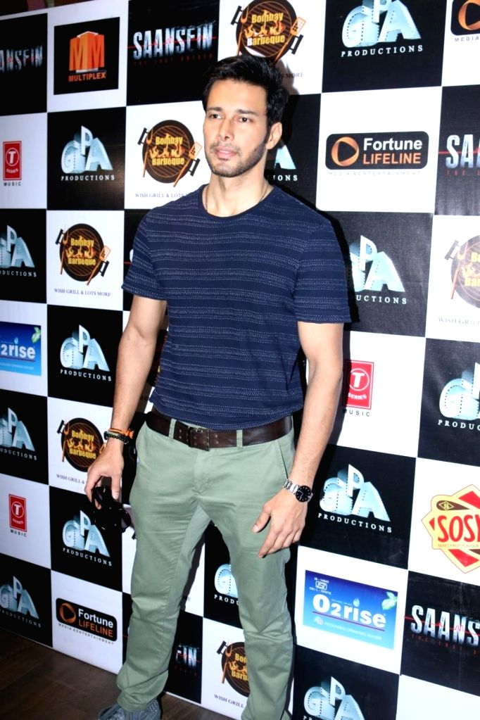Actors Rajneesh Duggal during the Interview at the launch of film Saansein,  in Mumbai, on Oct 27, 2016. - Rajneesh Duggal