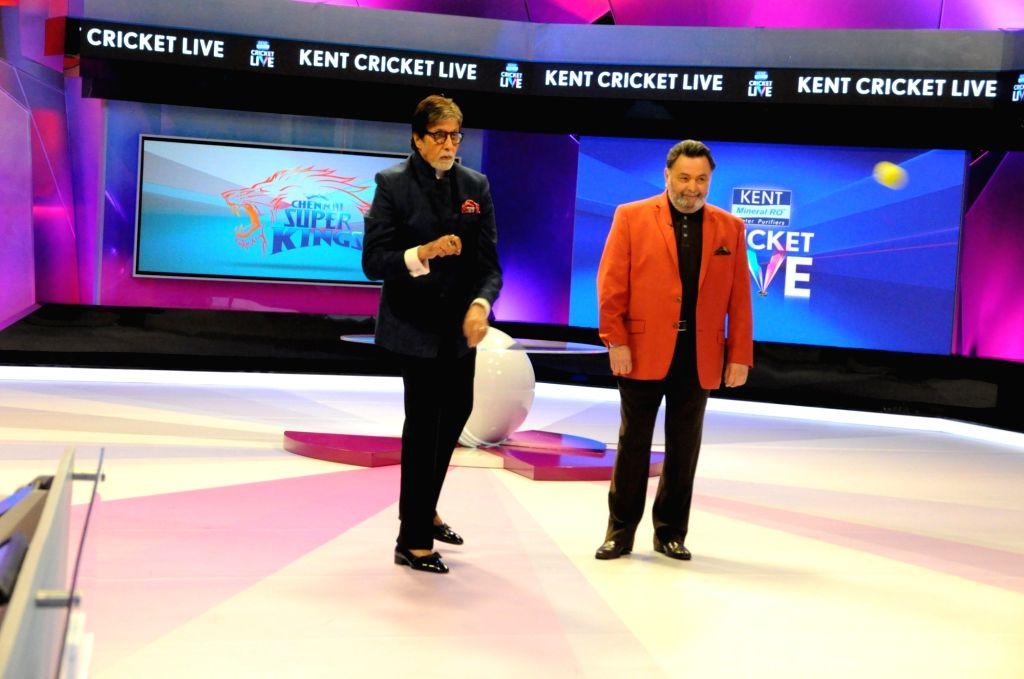 Actors Rishi Kapoor and Amitabh Bachchan. (Photo: IANS) - Rishi Kapoor and Amitabh Bachchan