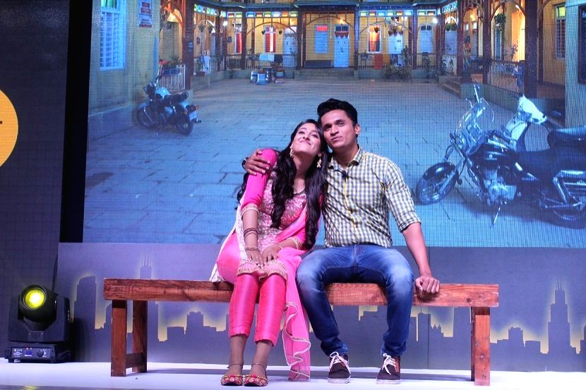 Actors Shivya Pathania and Stavan Shinde during the launch of Zee Tv new show 'Dil Dhoondta Hai' in Mumbai on Sept 15, 2017. - Shivya Pathania and Stavan Shinde