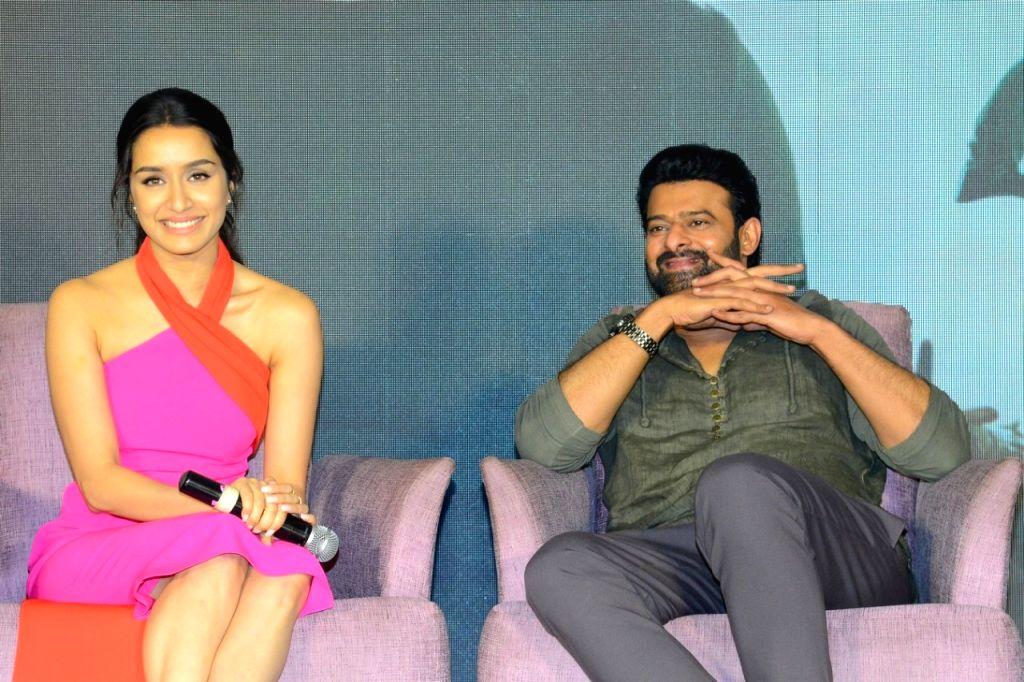 Actors Shraddha Kapoor and Prabhas. (Photo: IANS) - Shraddha Kapoor and Prabhas