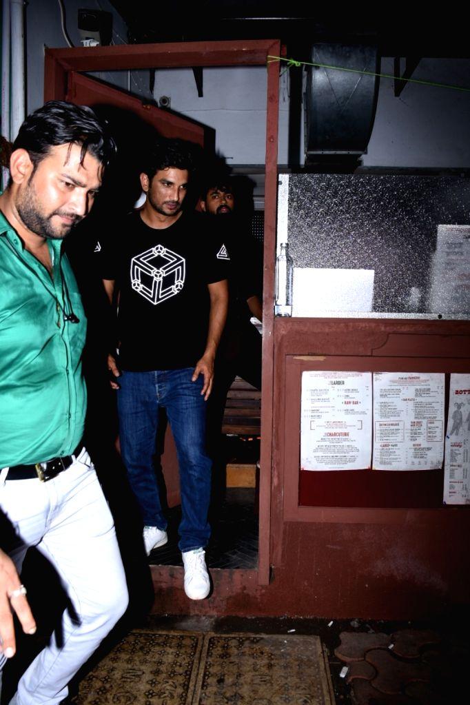 Actors Sushant Singh Rajput seen at Bandra in Mumbai, on July 18, 2019. - Sushant Singh Rajput