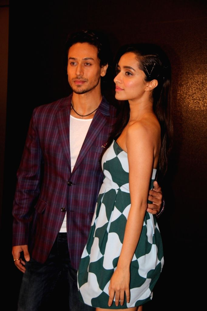 Actors Tiger Shroff and Shraddha Kapoor during the launch of action song, Get Ready to Fight of film Baaghi, in Mumbai, on April 21, 2016. - Tiger Shroff and Shraddha Kapoor