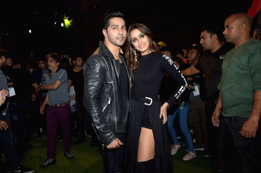 Actors Varun Dhawan and Shraddha Kapoor - Varun Dhawan and Shraddha Kapoor