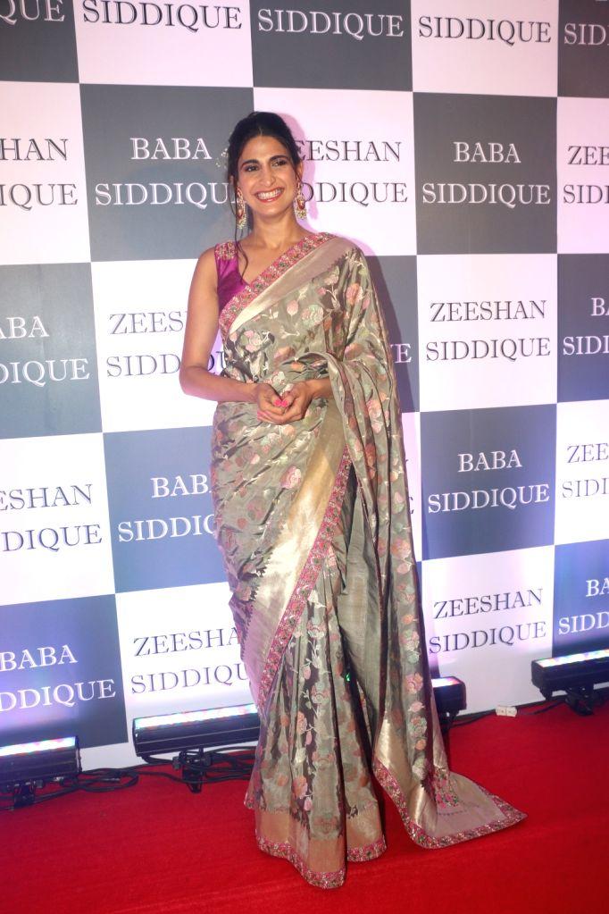 Actress Aahana Kumra at Congress leader Baba Siddique's Iftar party in Mumbai, on June 2, 2019. - Aahana Kumra