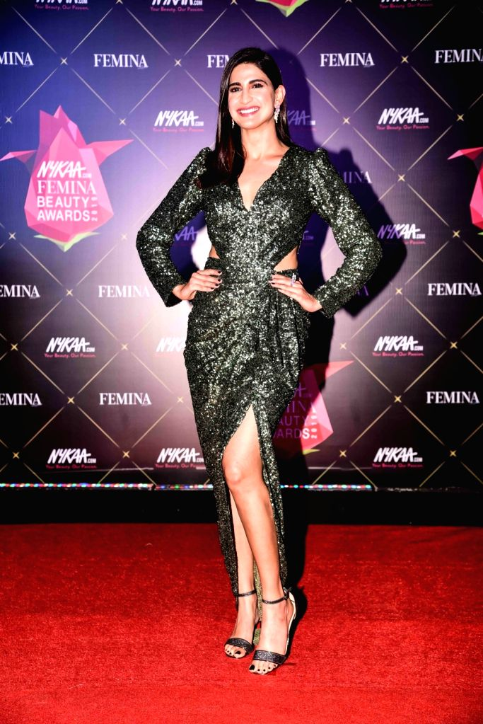Actress Aahana Kumra at Nykaa Femina Beauty Awards 2019, in Mumbai, on Feb 20, 2019. - Aahana Kumra