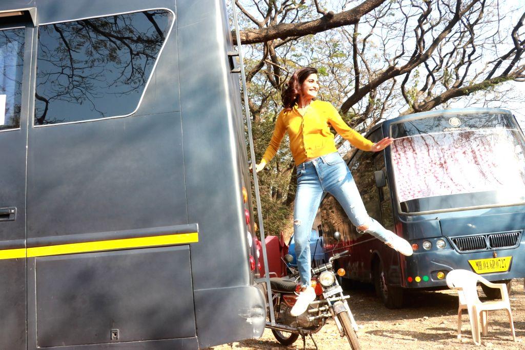 Actress Aahana Kumra spotted at Filmcity, in Mumbai on Feb 7, 2020. - Aahana Kumra