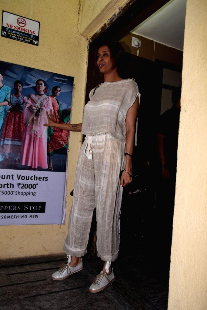 "Actress Achint Kaur at the screening of the upcoming film ""Kalank"", in Mumbai on April 14, 2019. - Achint Kaur"