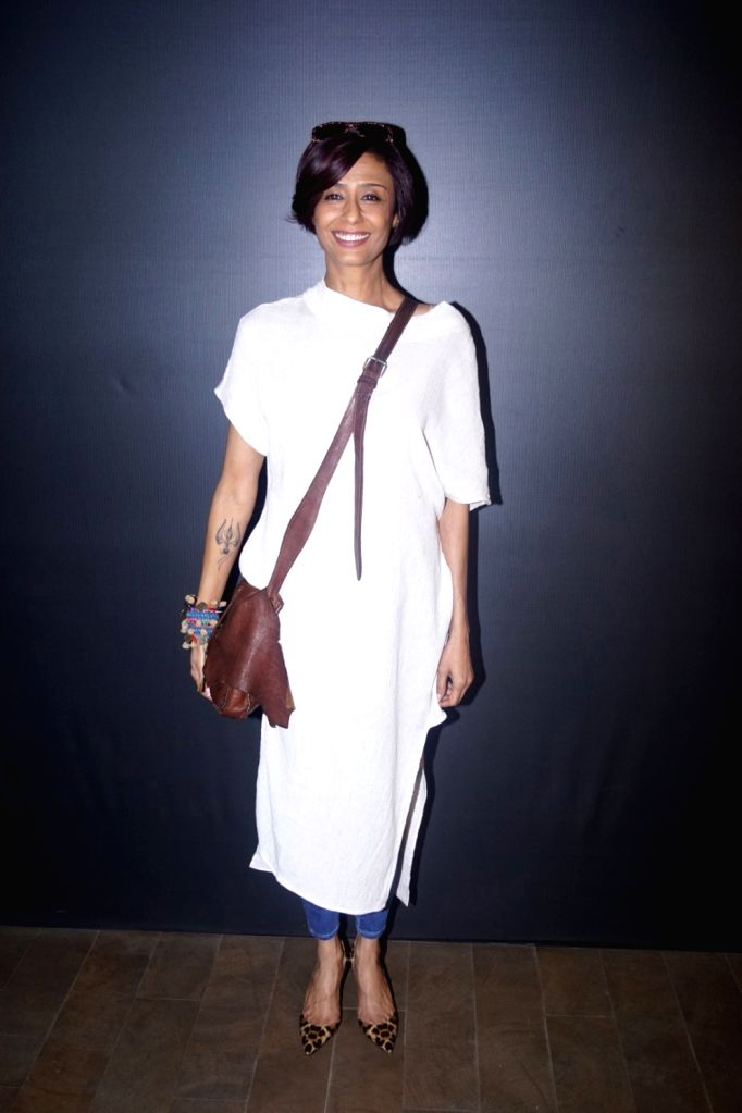 """Actress Achint Kaur at the special screening of web series """"Wrong Mistake"""" in Mumbai on Feb 13, 2018. - Achint Kaur"""