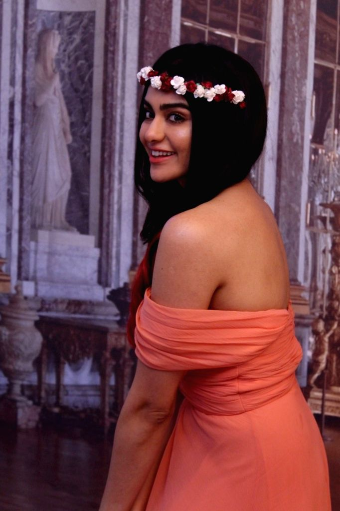 Actress  Adah Sharma at celebrates Valentines Day photoshoot  in Mumbai, on Feb 10, 2017. - Adah Sharma