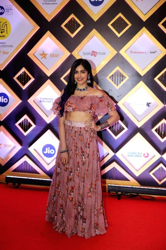 Actress Adah Sharma at the Jio MAMI 20th Mumbai Film Festival concluded in Mumbai on Nov 1, 2018. - Adah Sharma