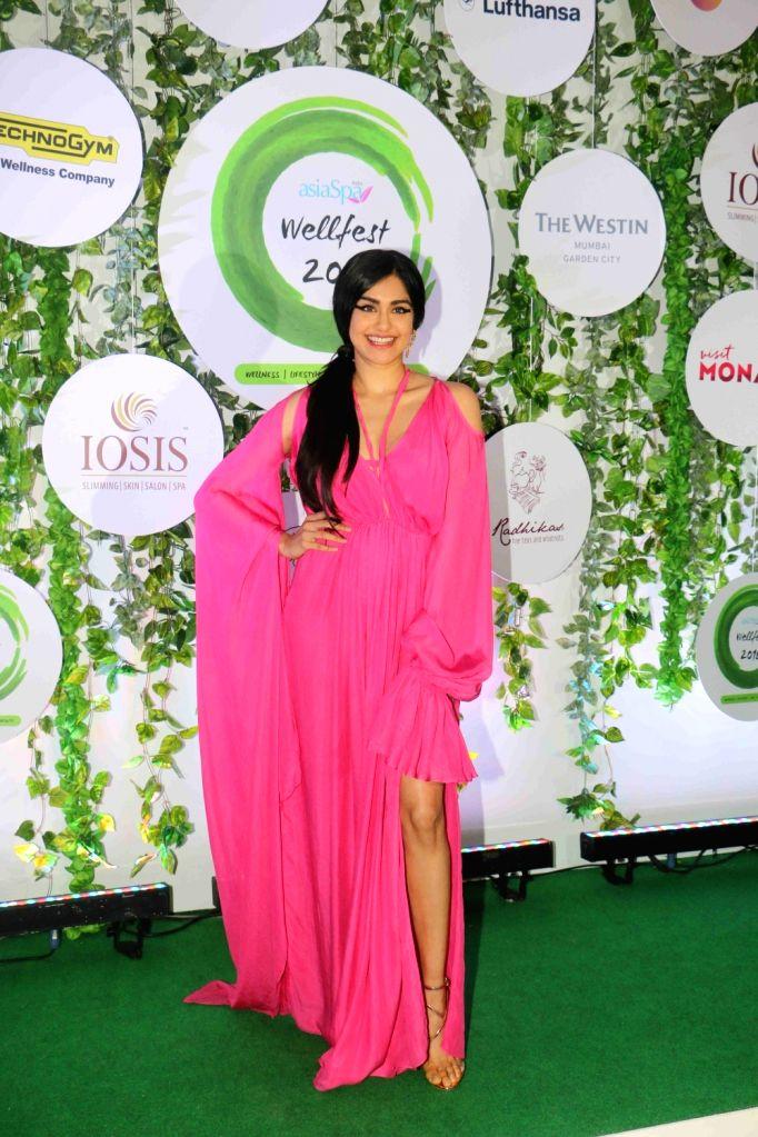Actress Adah Sharma at the red carpet of Asia Spa Fit & Fabulous Awards 2018 in Mumbai on Oct 30, 2018. - Adah Sharma