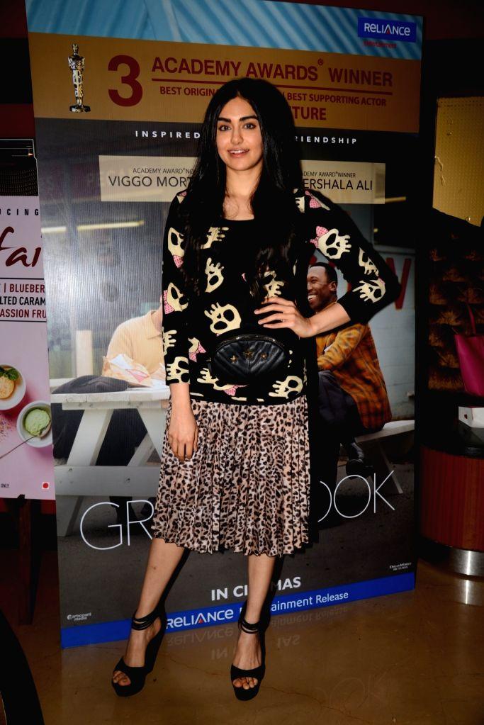 "Actress Adah Sharma at the screening of an Oscar winning film ""Green Book"" in Mumbai, on  March 2, 2019. - Adah Sharma"