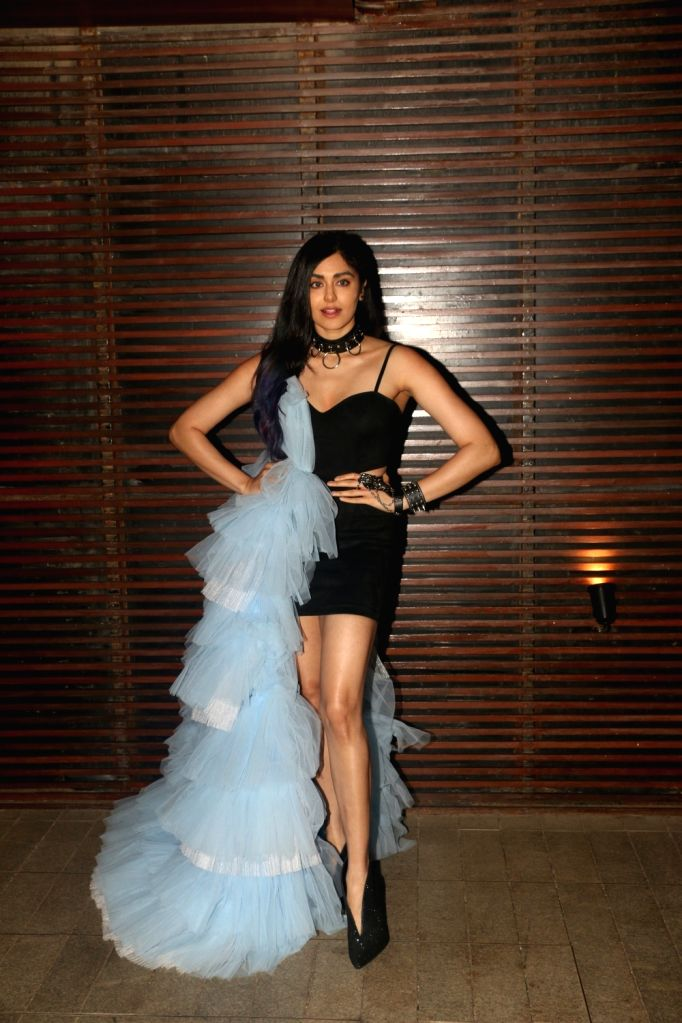 "Actress Adah Sharma attend the success party of film ""Commando 3"" in Mumbai on Dec 3, 2019. - Adah Sharma"