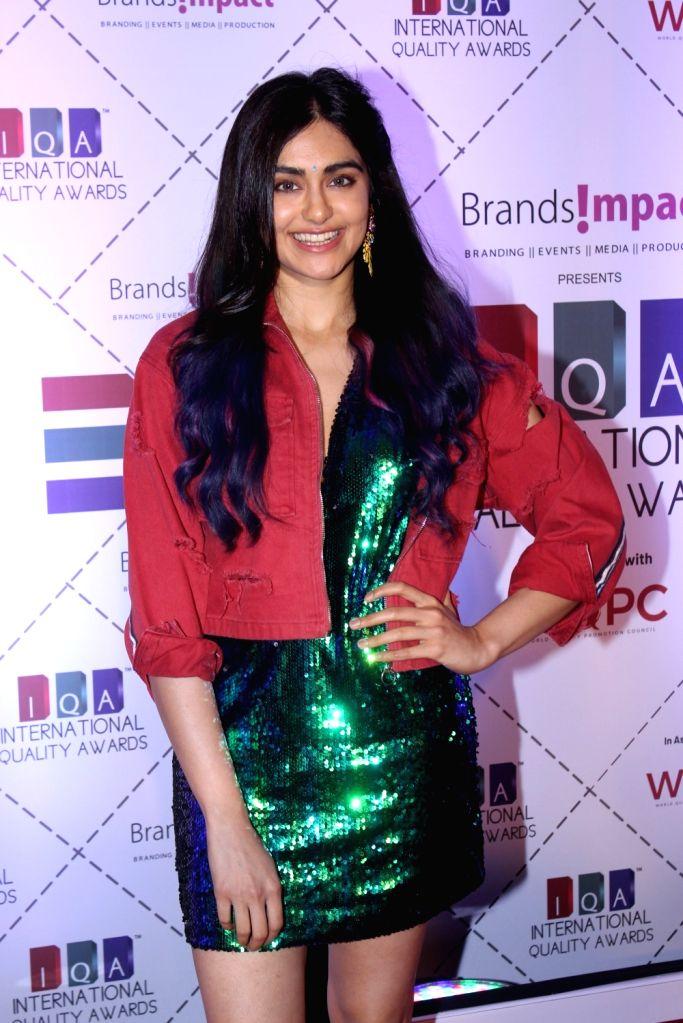 Actress Adah Sharma during 2019 International Quality Awards (IQA) in Mumbai, on March 15, 2019. - Adah Sharma