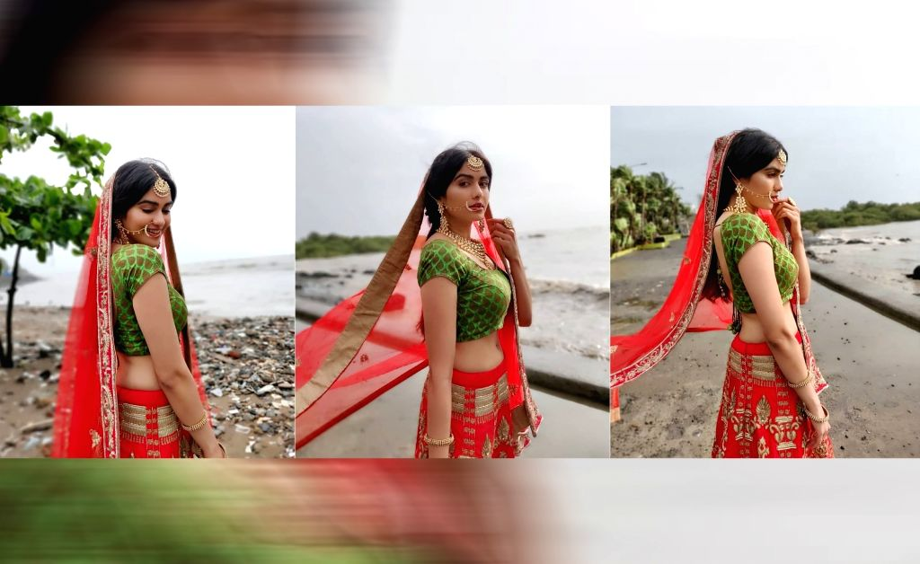 "Actress Adah Sharma is all decked up in traditional attire and looking for a groom. But it's not a tall, dark and handsome man that she is looking for. Her demands include a man who ""should be ... - Adah Sharma"