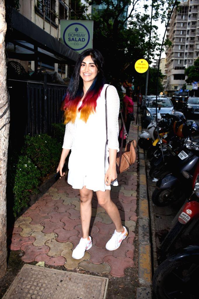 Actress Adah Sharma seen at Bandra in Mumbai, on July 18, 2019. - Adah Sharma