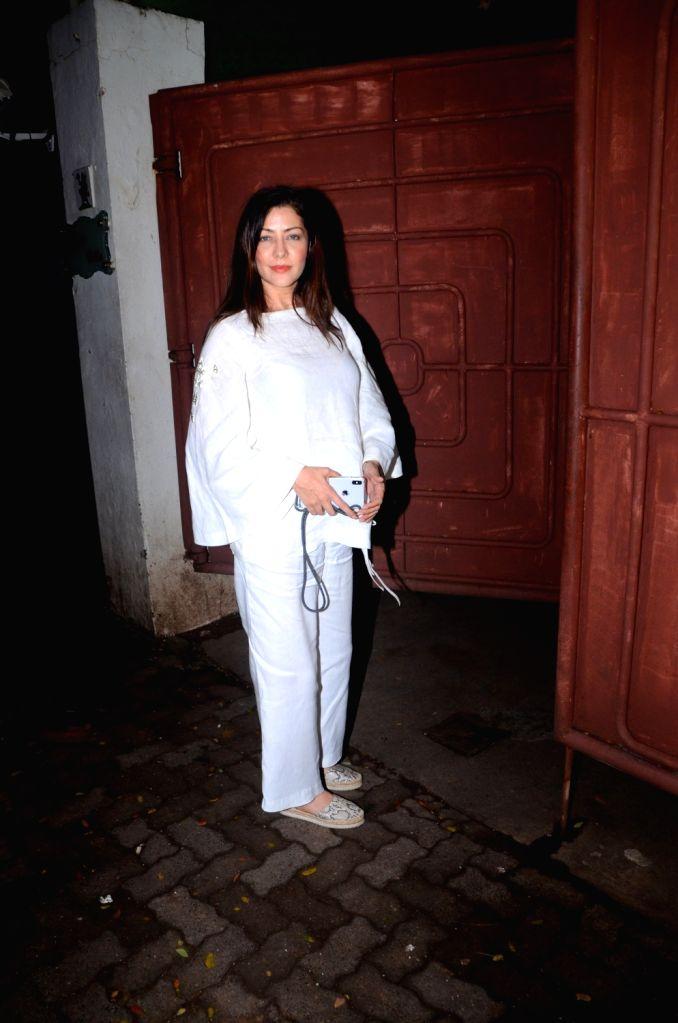 "Actress Aditi Govitrikar at the screening of the Marathi film ""Smile Please"" in Mumbai on July 15, 2019. - Aditi Govitrikar"