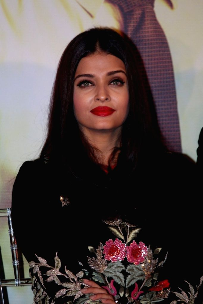 Actress Aishwarya Rai during the music launch of marathi film Hrudayantar in Mumbai, on June 10 2017. - Aishwarya Rai