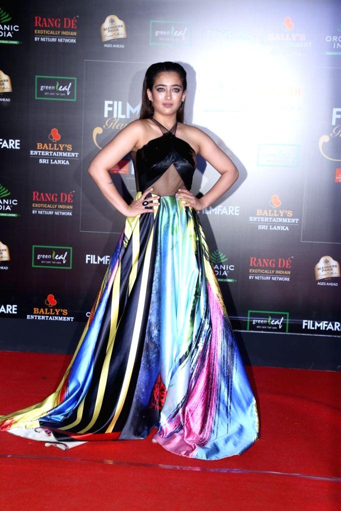 Actress Akshara Haasan on the red carpet of Filmfare Glamour And Style Awards 2019 in Mumbai on Dec 3, 2019. - Akshara Haasan