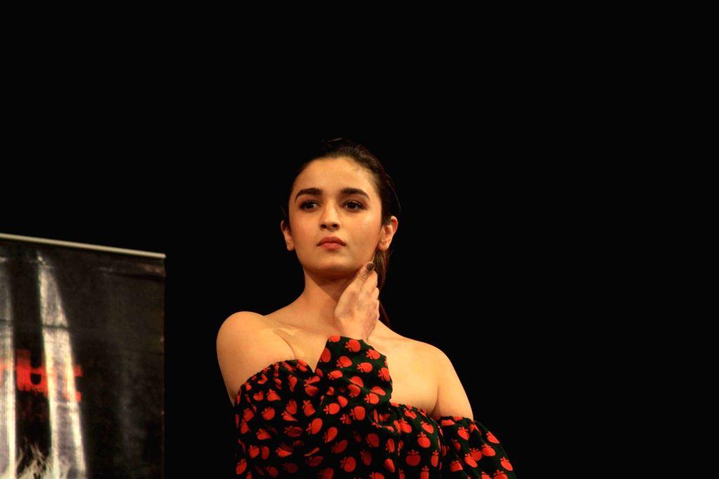 Actress Alia Bhatt during a programme in Mumbai on March 25, 2017. - Alia Bhatt