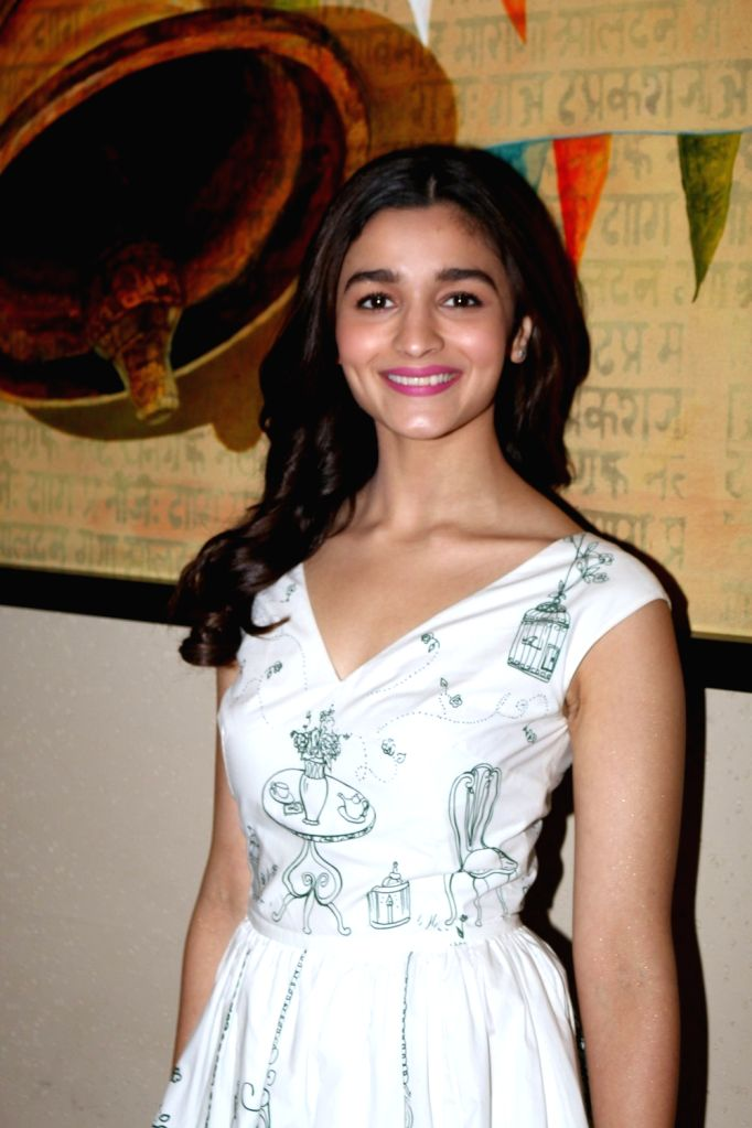Actress Alia Bhatt during the press conference of Singapore Tourism Board to promote film Dear Zindagi in Mumbai on Nov. 24, 2016. - Alia Bhatt