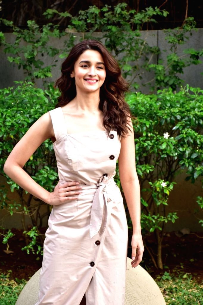 "Actress Alia Bhatt during the promotions of her upcoming film ""Gully Boy"" in Mumbai, on Feb 5, 2019. - Alia Bhatt"