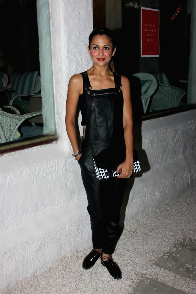 Actress Amrita Arora during the preview collection of The Closet Label at Olive in Mumbai on December 20, 2013. - Amrita Arora