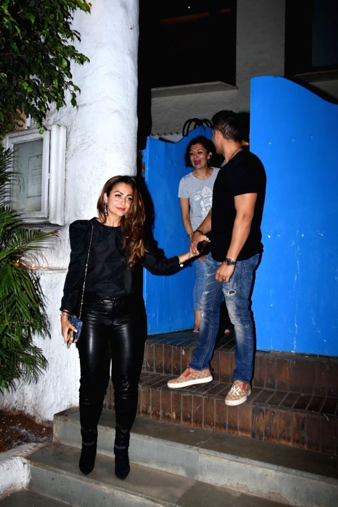 Actress Amrita Arora seen at a restaurant in Mumbai's Bandra, on May 24, 2019. - Amrita Arora