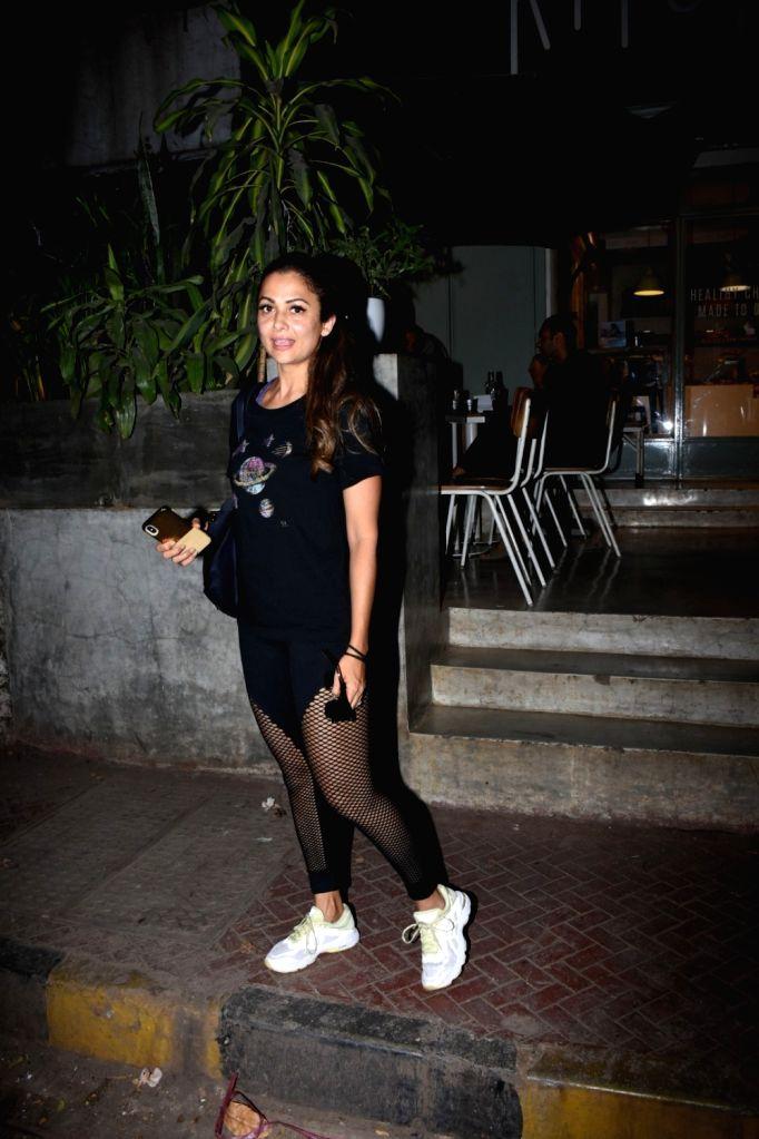 Actress Amrita Arora seen in Mumbai's Bandra, on May 9, 2019. - Amrita Arora