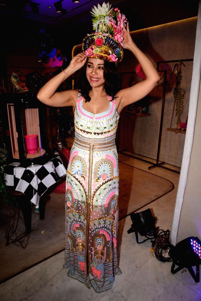 Actress Amrita Puri at a fashion studio in Mumbai, on March 4, 2019. - Amrita Puri