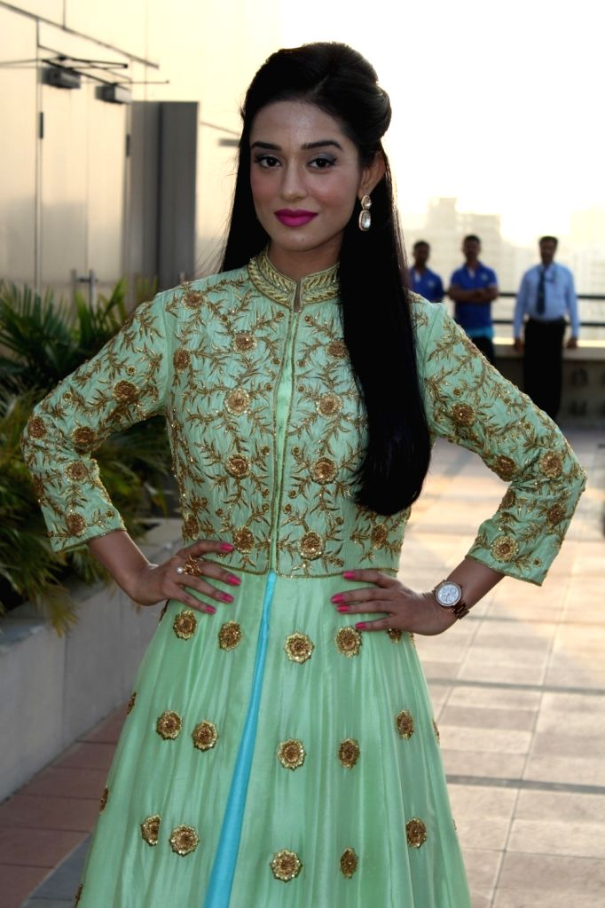 Actress Amrita Rao during the annual event of Khel Khel Mein in Mumbai on Nov 25, 2016. - Amrita Rao