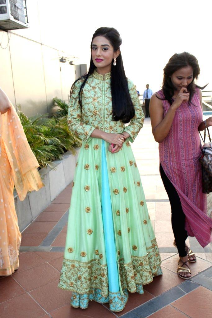 Actress Amrita Rao during the annual event of Khel Khel Mein in Mumbai on Nov 25, 2016. - Amrita Rao