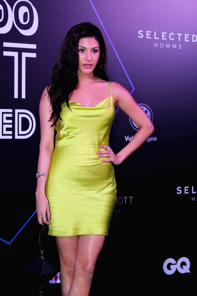 "Actress Amyra Dastur at ""GQ 100 Best Dressed Awards 2019"", in Mumbai, on June 1, 2019. - Amyra Dastur"
