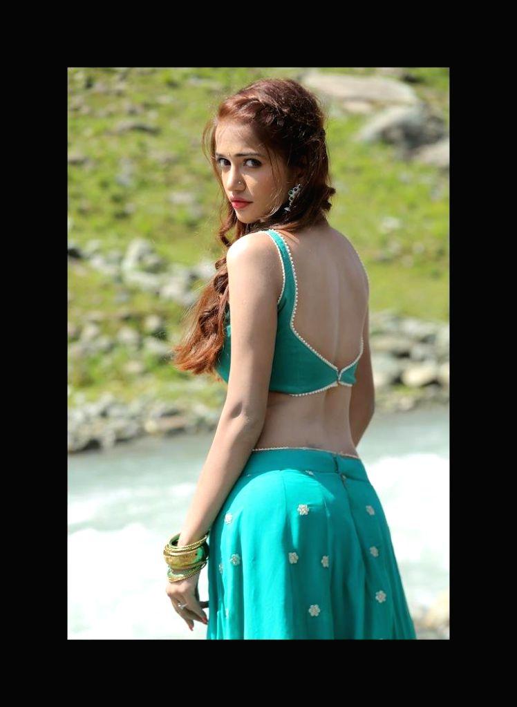 Actress Anaika Soti poses for a photograph during a photoshoot.