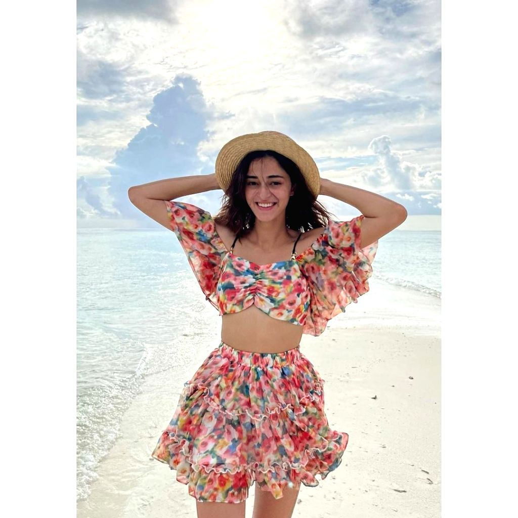 Actress Ananya Panday is back from her vacation in Maldives. She admits she is already missing her time in the tourist hub, adding that she is mentally still in Maldives. - Ananya Panday