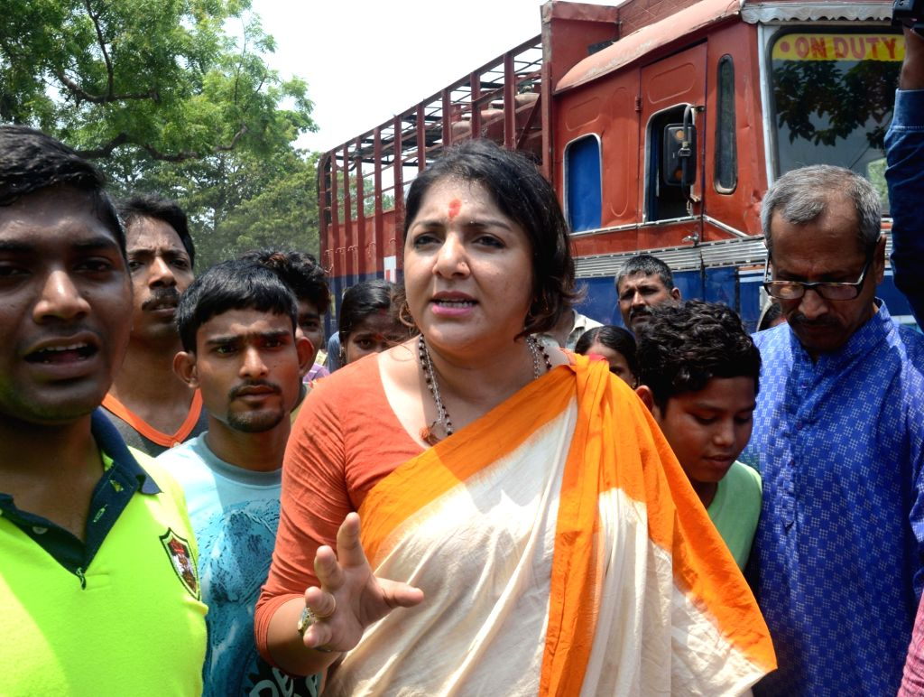 Actress and BJP leader Locket Chatterjee. (File Photo: IANS) - Chatterjee