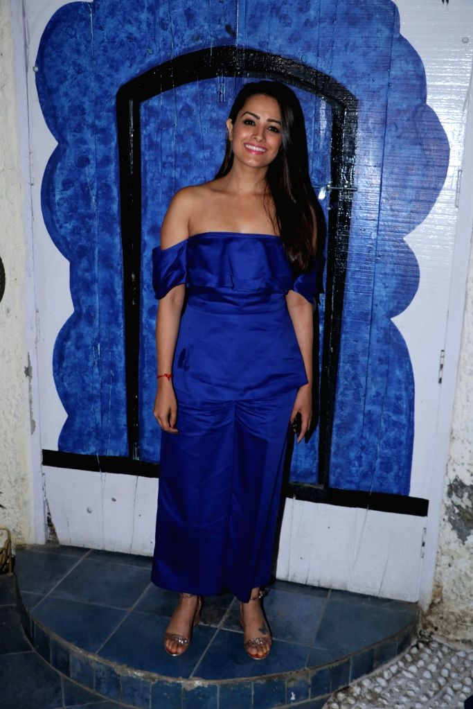 """Actress Anita Hassanandani at the launch of the new season of reality television comedy show """"Comedy Circus"""", in Mumbai on Sept 15, 2018. - Anita Hassanandani"""