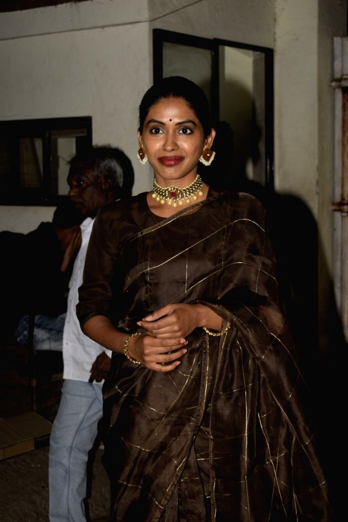 """Actress Anjali Patil at the screening of her upcoming film """"Mere Pyare Prime Minister"""" in Mumbai, on March 14, 2019. - Anjali Patil"""