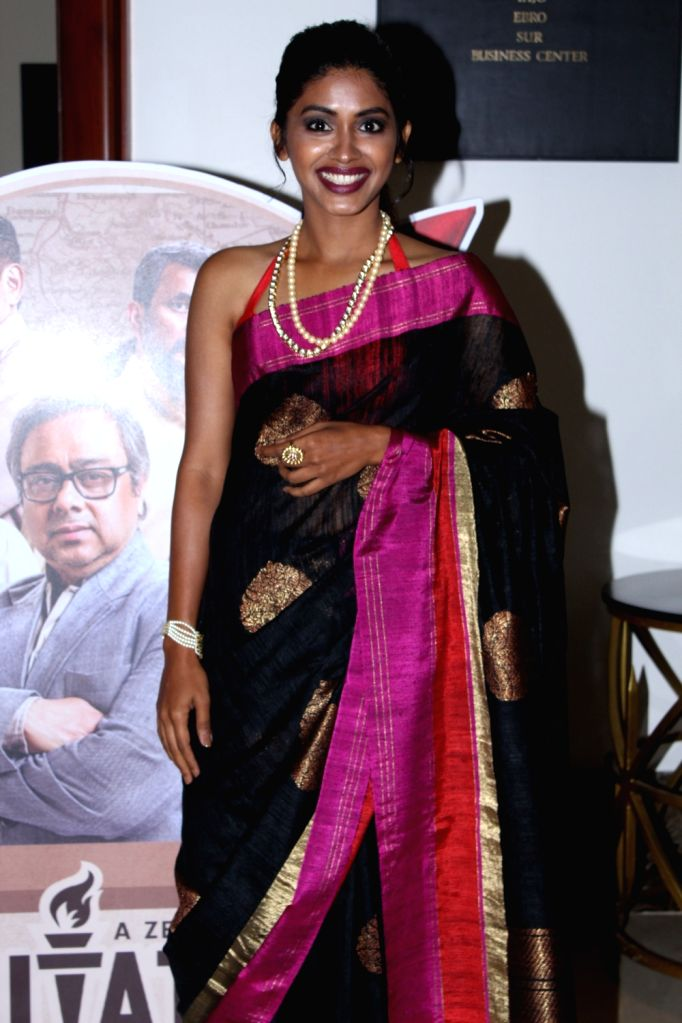 Actress Anjali Patil at the screening of the documentary 'Muhurth' in Mumbai, on April 25, 2019. - Anjali Patil