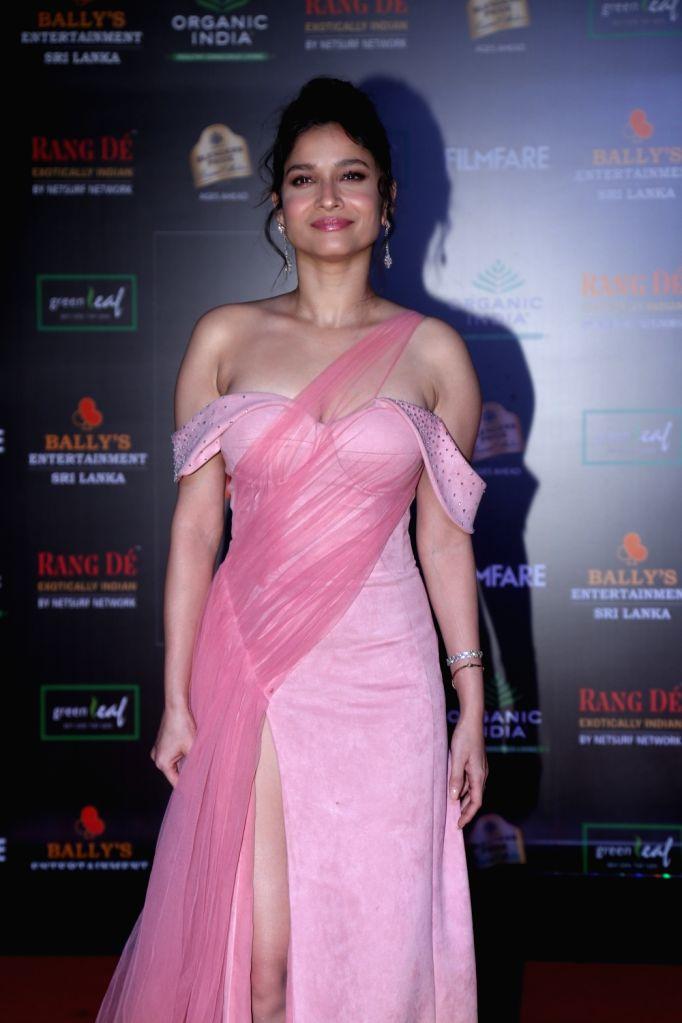 Actress Ankita Lokhande on the red carpet of Filmfare Glamour And Style Awards 2019 in Mumbai on Dec 3, 2019. - Ankita Lokhande