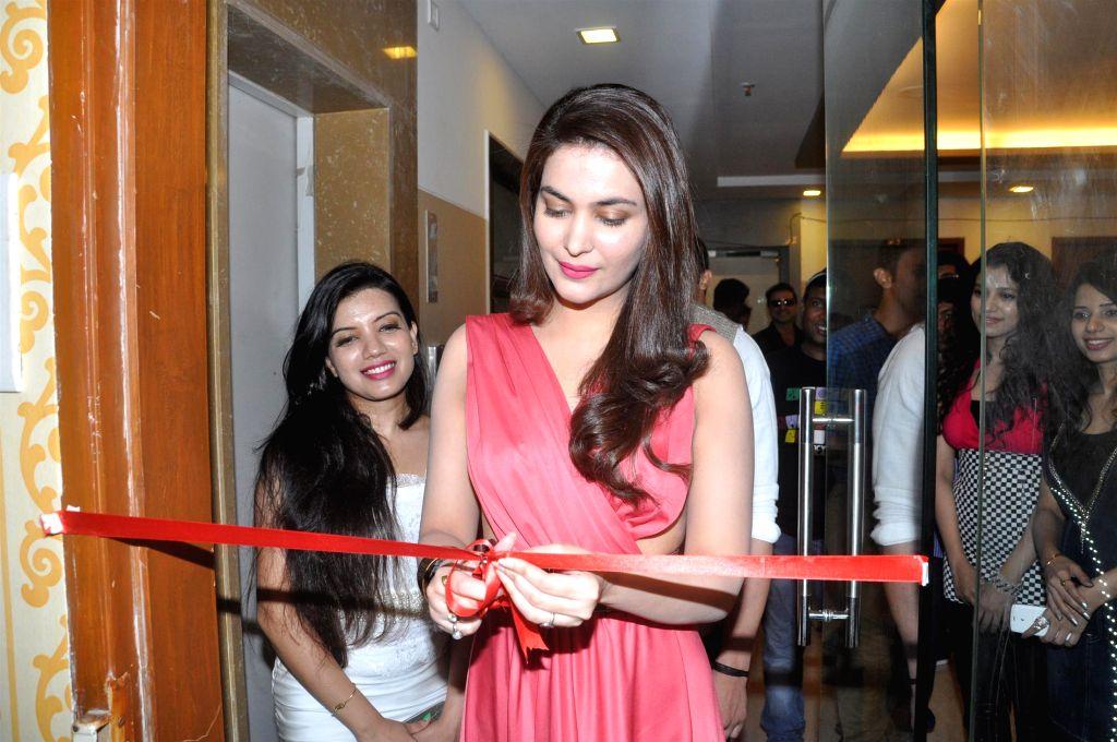 Actress Ankita Shorey during the launch of Fit Zone Gym in Mumbai on April 15, 2014. - Ankita Shorey