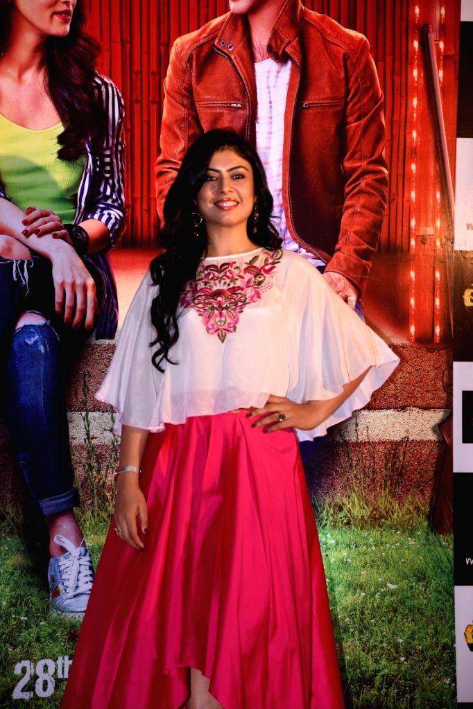 """Actress Anurita Jha  during the promotion of the film """"Baaraat Company"""" in Mumbai on July 5, 2017. - Anurita Jha"""