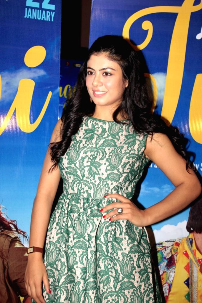 Actress Anurita Jha during the screening of film Jugni in Mumbai on Jan 18, 2016. - Anurita Jha