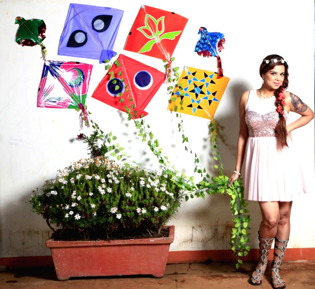 Actress Anushka Das celebrate Makarsankranti In Mumbai on Jan 14, 2017 - Anushka Das