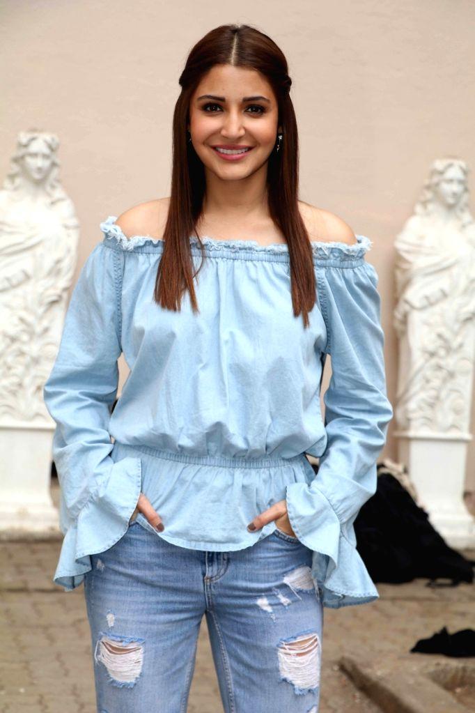 Actress Anushka Sharma at Mehboob studio in Mumbai. - Anushka Sharma